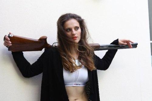 Danka Barteková Slovakia Skeet Shooting